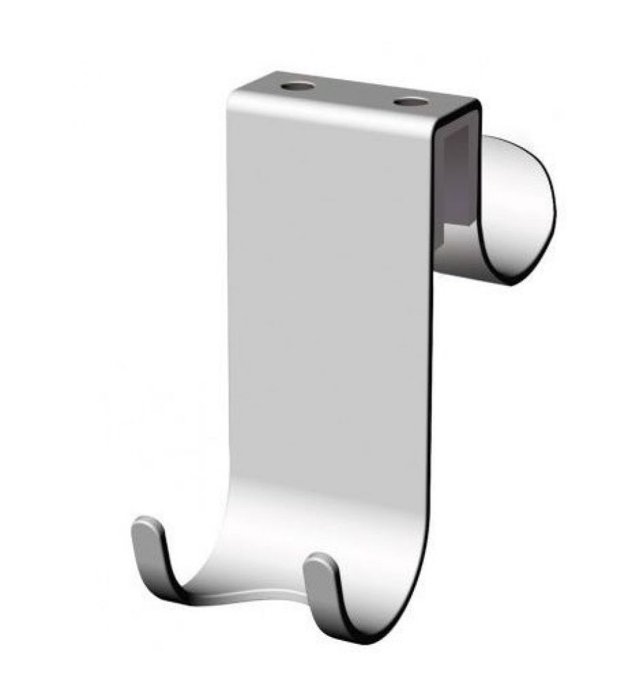 Crochet en acier pour paroi de douche