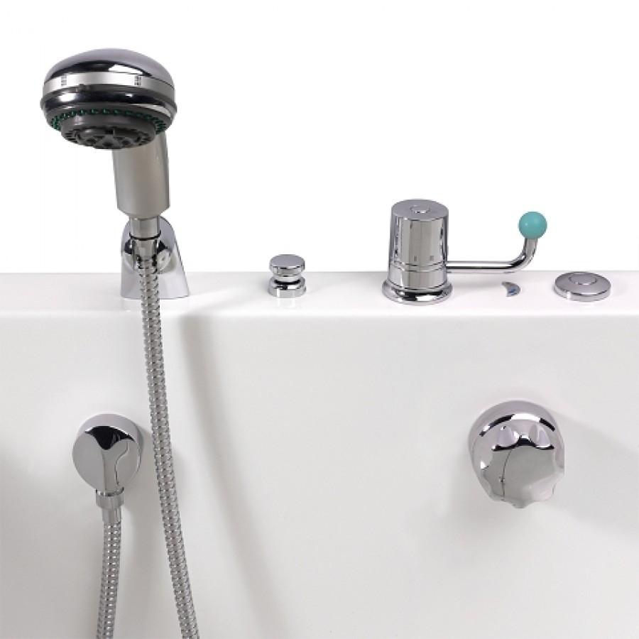 baignoire porte avec hydromassage alize 128x70. Black Bedroom Furniture Sets. Home Design Ideas