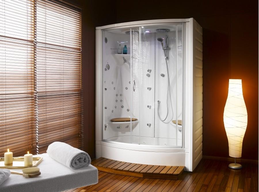 cabine de douche recyclage jedo bora bora luxe. Black Bedroom Furniture Sets. Home Design Ideas