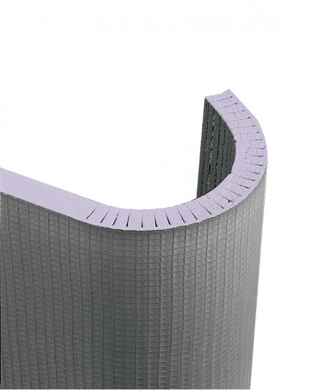 Panneau à carreler cintrable à fentes longitudinales JACKOBOARD Flexo 30mm