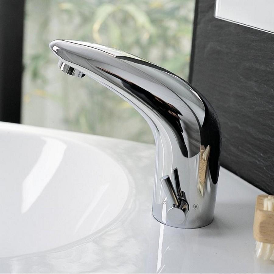 Mitigeur lavabo électronique Soltronic 7101Sanitaire.fr  Meuble de ...