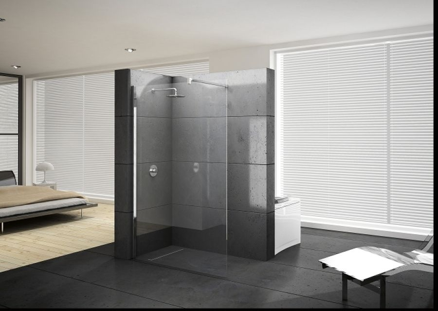 Paroi de douche fixe kuadra h 90 s rigraphi meuble de salle de - Paroi de douche fixe 140 ...