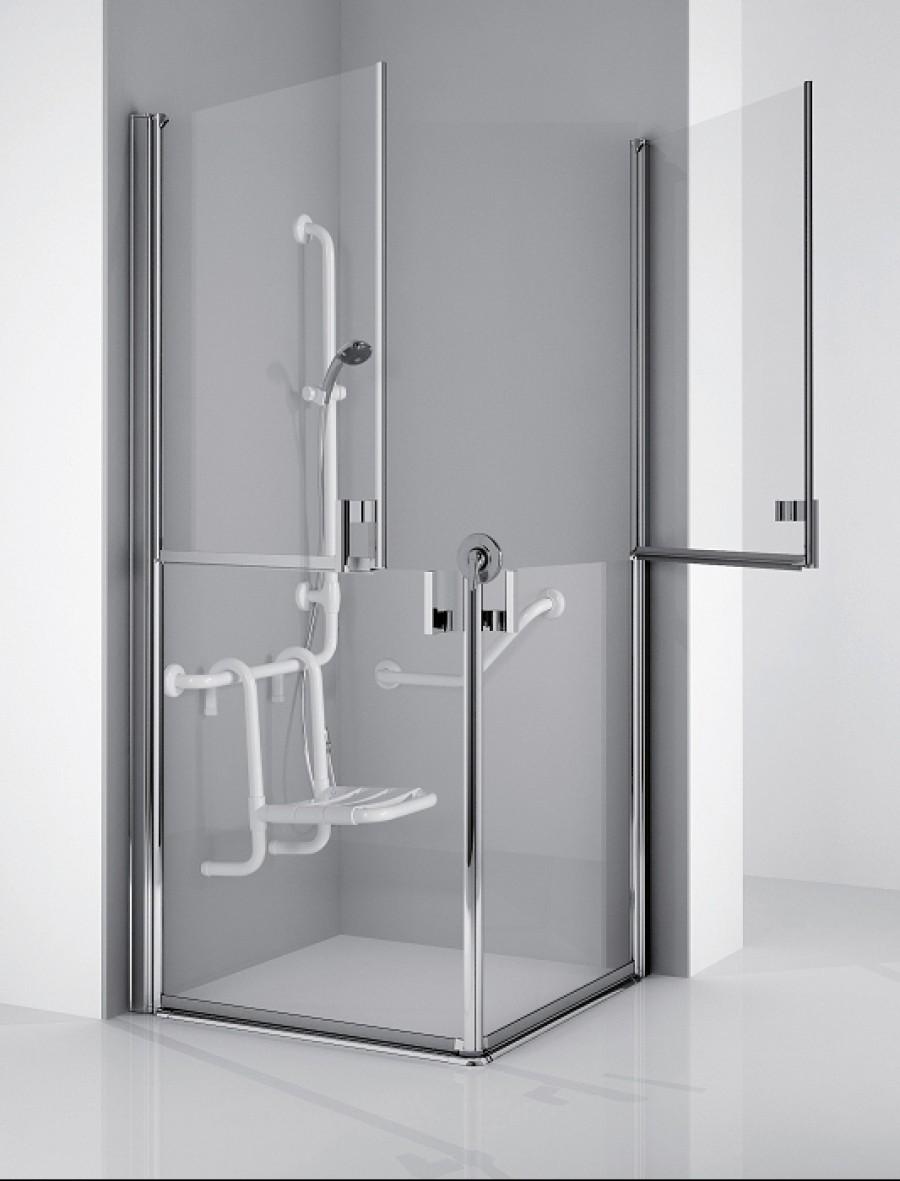 Paroi d 39 angle handicap free 1 2g 90 x for Paroi de baignoire d angle
