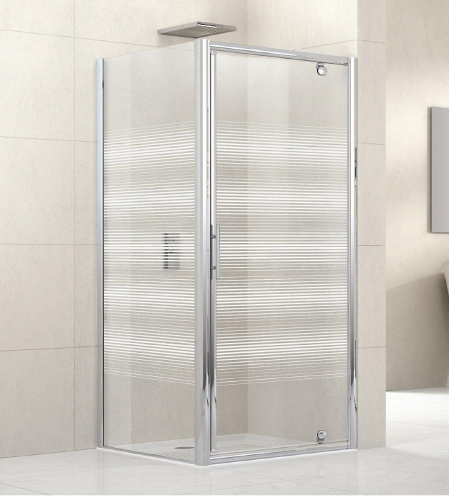 Porte de douche pivotante lunes g 60cm s rigraphi meuble de salle de bain - Porte douche serigraphie ...