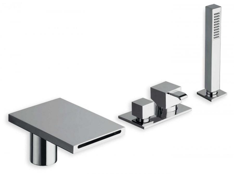mitigeur bain douche sur gorge quadri. Black Bedroom Furniture Sets. Home Design Ideas