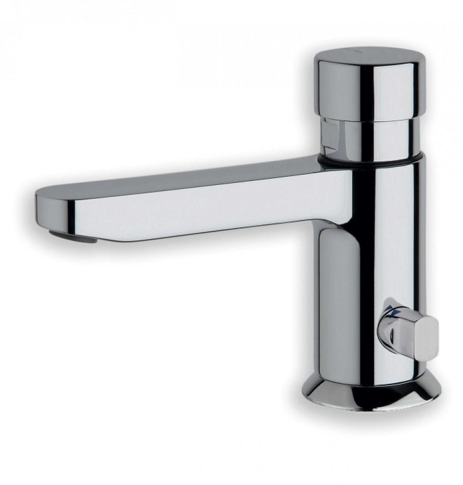 Robinet lave mains temporisé eau chaude/froide QUICK Q523251