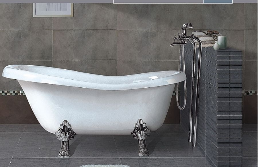 baignoire r tro en acrylique meuble de salle de bain douche baignoire. Black Bedroom Furniture Sets. Home Design Ideas