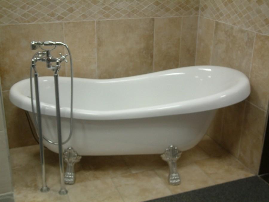 Baignoire r tro en acrylique meuble de salle de bain do - Baignoire retro acrylique ...