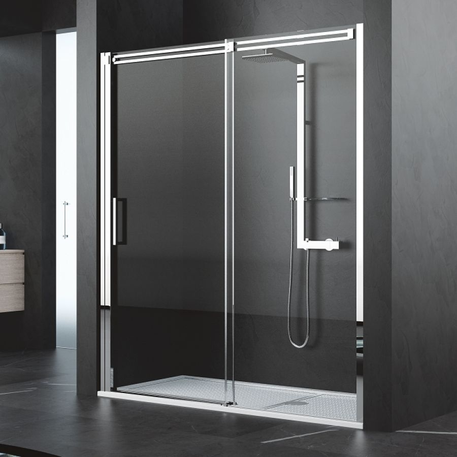 porte coulissante diamanti 2p 150 cm meuble de salle de bain douche baignoire. Black Bedroom Furniture Sets. Home Design Ideas