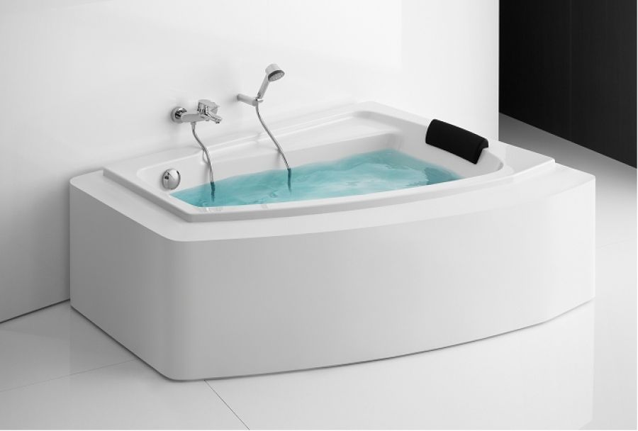 angle aveline 150x100 version droite blanc allia r f. Black Bedroom Furniture Sets. Home Design Ideas