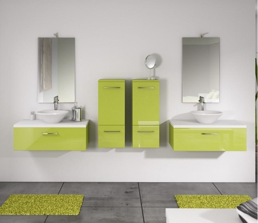 demi colonne vogue loft porte dp35 coloris meuble de salle de bain douche. Black Bedroom Furniture Sets. Home Design Ideas