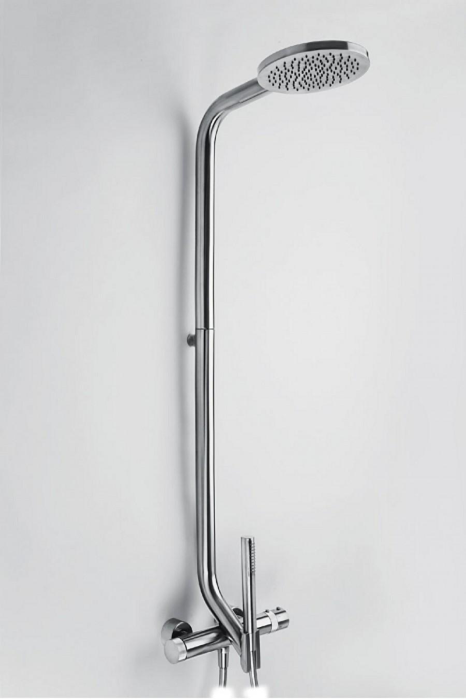 Colonne de douche thermostatique r010019 trey meuble de salle de bain - Colonne bain douche thermostatique ...