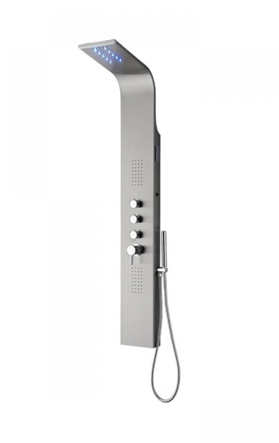 Colonne de douche nissa avec clairage led meuble de salle d - Eclairage led douche ...