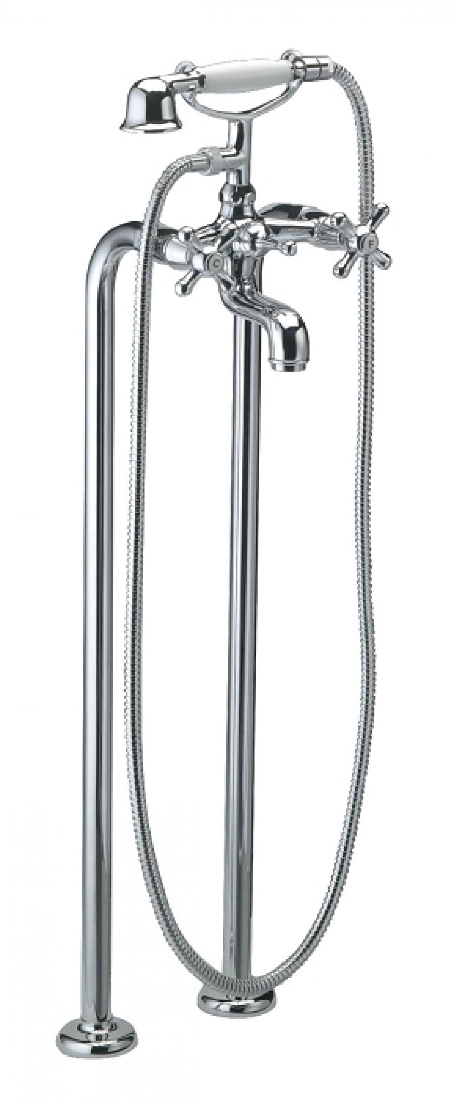 m langeur bain douche sur colonnes r tro gaudi 3035c g. Black Bedroom Furniture Sets. Home Design Ideas
