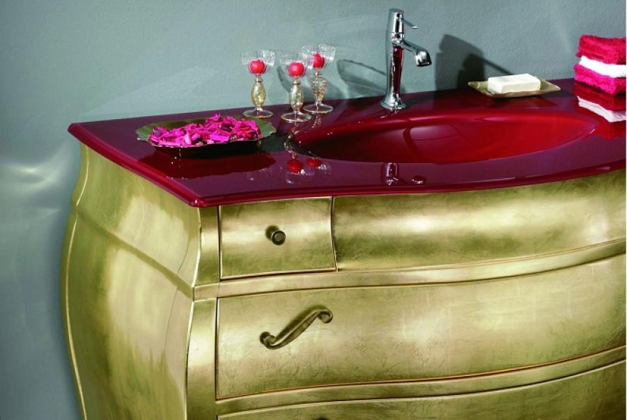 Meuble de salle de bain new baroque composition 3 - Meuble de salle de bain style baroque ...