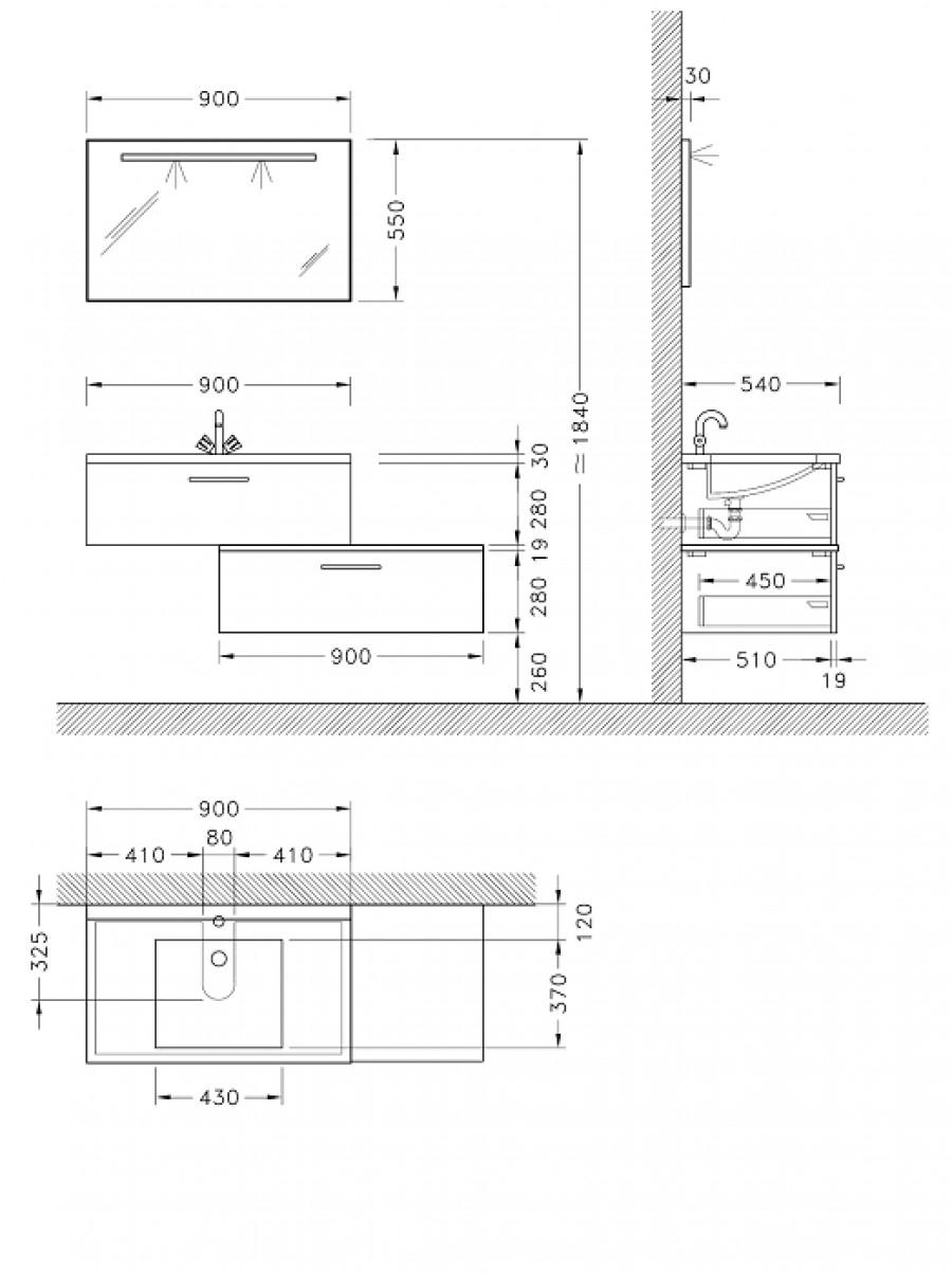Hauteur standard lavabo salle de bain for Norme ventilation salle de bain