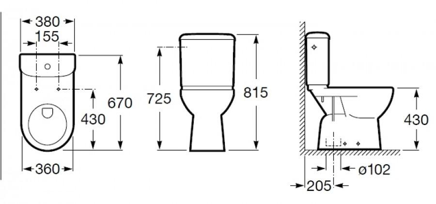 pack wc confort access sortie verticale meuble de salle de bain douche. Black Bedroom Furniture Sets. Home Design Ideas