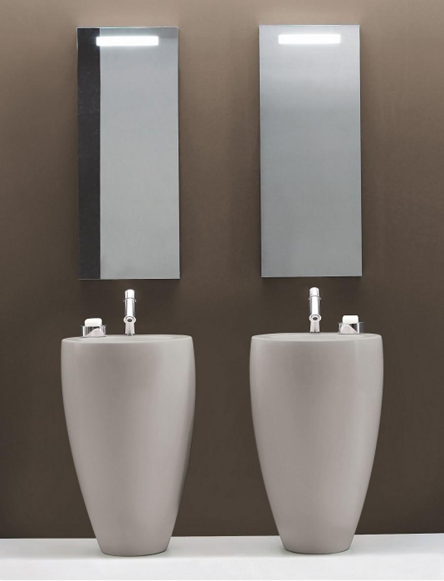 Lavabo avec colonne indépendant \