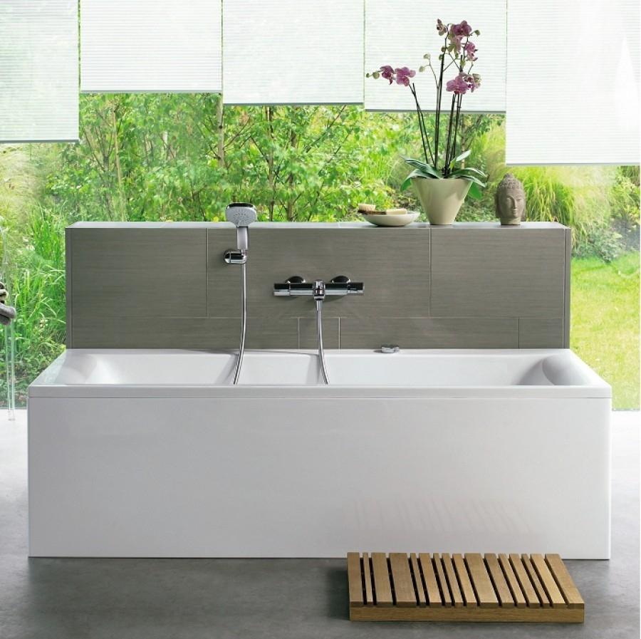 baignoire rectangulaire nue connect 170x75 avec trop plein. Black Bedroom Furniture Sets. Home Design Ideas