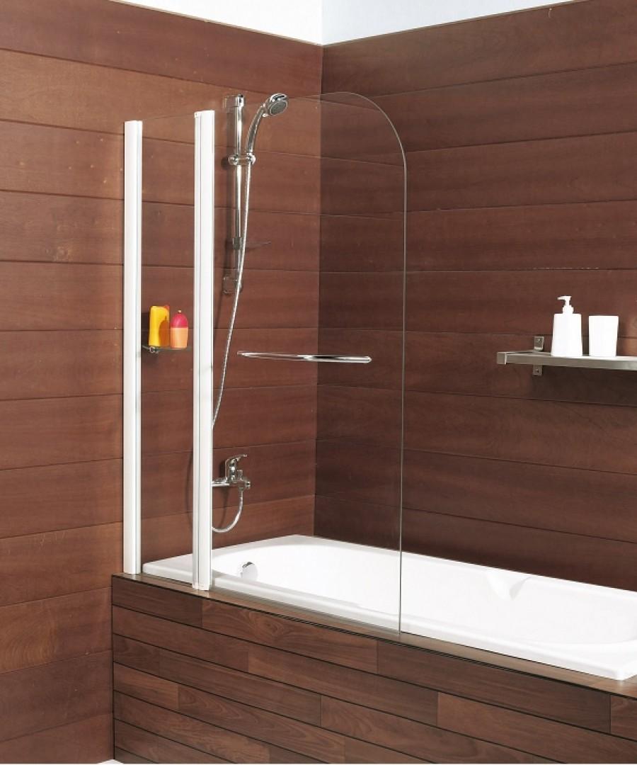 pare baignoire pivotant 110x140cm caiman. Black Bedroom Furniture Sets. Home Design Ideas