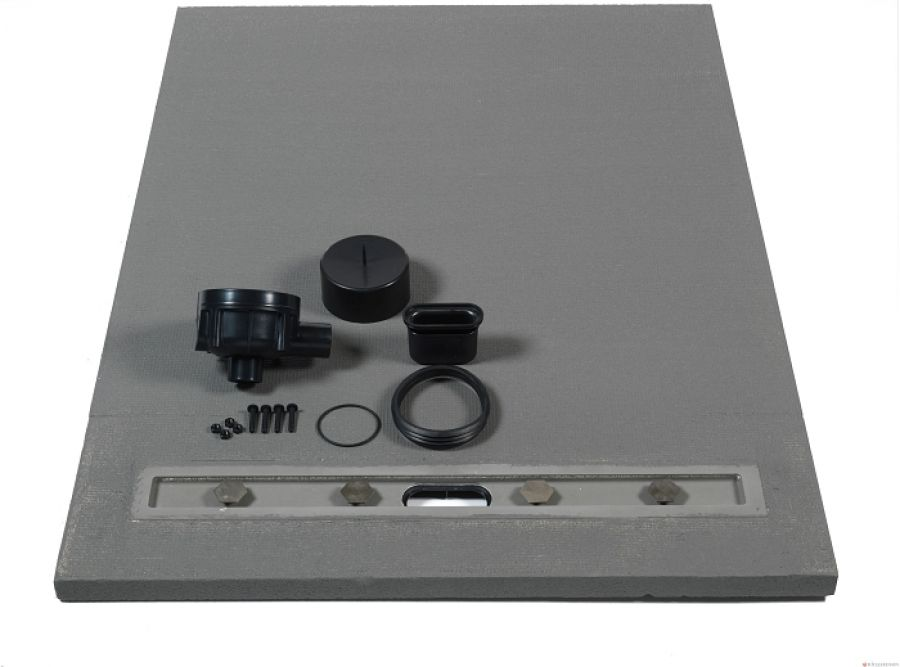 Receveur carreler panodur lineal coulement lin aire for Fenetre 80x90