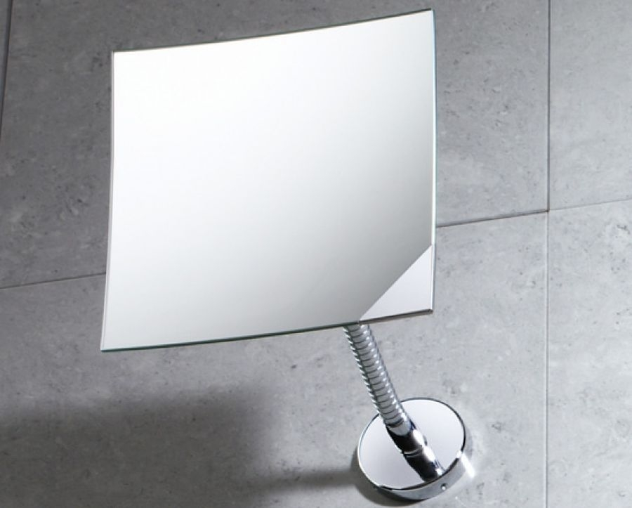 Miroir mural orientable grossissant 2111 bertrandsanitaire for Miroir orientable