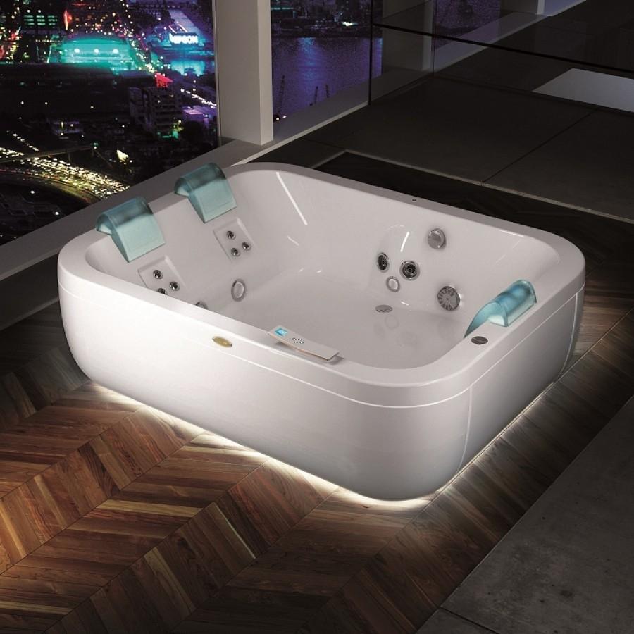 baignoire baln o 3 places aquasonge extra sans aquasystem. Black Bedroom Furniture Sets. Home Design Ideas