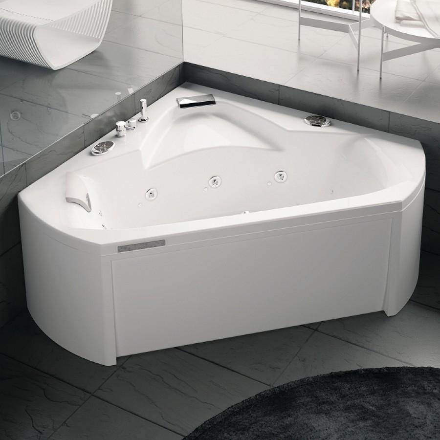 Baignoire baln o pure design 140x140 concept detente for Tablier pour baignoire d angle