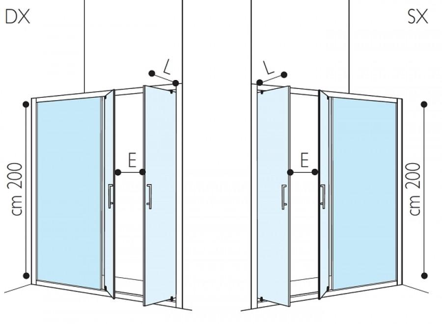 Paroi douche 120x80 - Cabine de douche rectangulaire pas cher ...