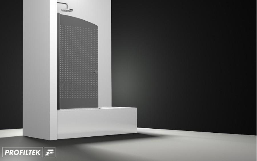 Pare bain arcoiris pivotant verre fum sabl quadra 80x150 for Fenetre 80x150