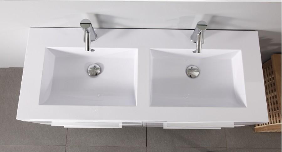 Plan Vasque 1 Robinet Resine 100 Cm : Plan vasque robinet resine cm solutions pour la