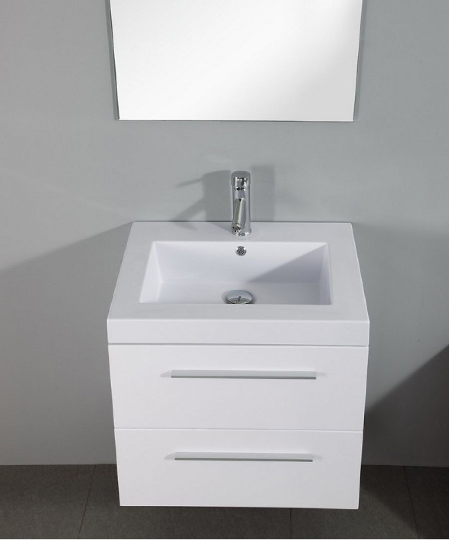 Meuble simple vasque saturn 60cm - Meuble sous lavabo 50 cm largeur ...