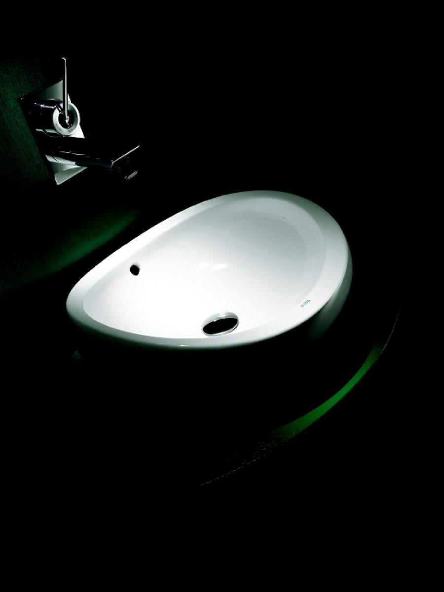 Lavabo Urbi 1 De Roca.Vasque A Poser En Ceramique Urbi 1 Roca