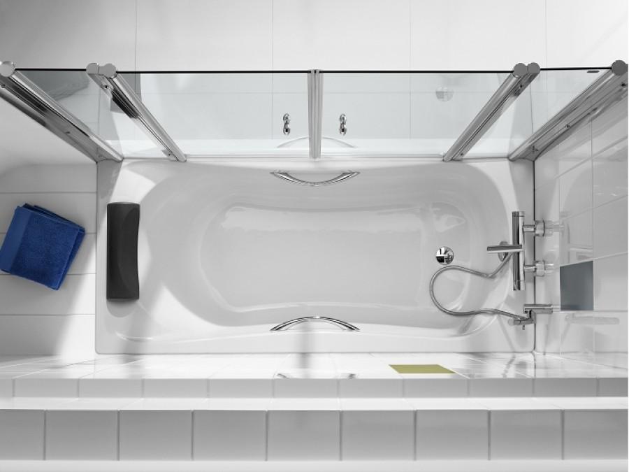 Baignoire nue rectangulaire encastrer becool 190x90 for Baignoire largeur 90