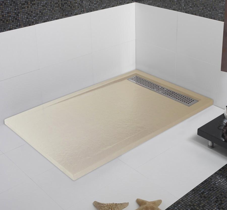 receveur de douche marbre de synthèse