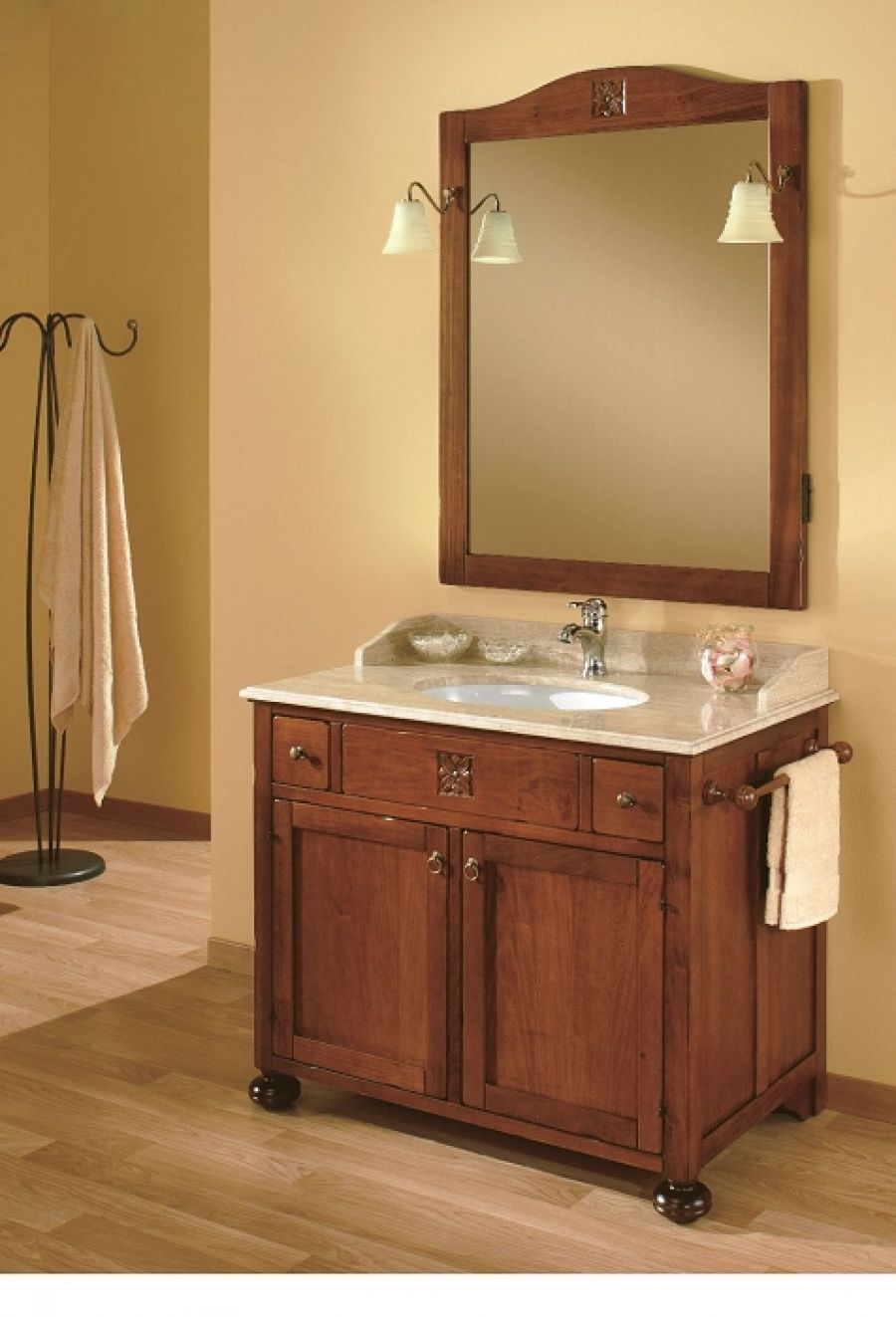 meuble de salle de bain ricordi composition meuble de salle de bain douche. Black Bedroom Furniture Sets. Home Design Ideas