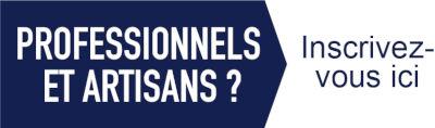 Professionnels et artisans, inscrivez-vous sur notre site sanitairepro.fr