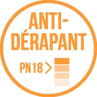 Antidérapant PN18 vignette sanitaire.fr